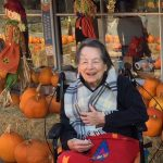 Bette McAninch enjoying being out and the fall season.