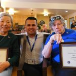 Toyoko Mayer, Javier Blanco, Janet Morgan.